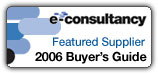 E-Consultancy featured supplier